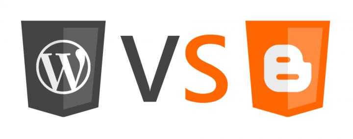WordPress vs Blogger comparison