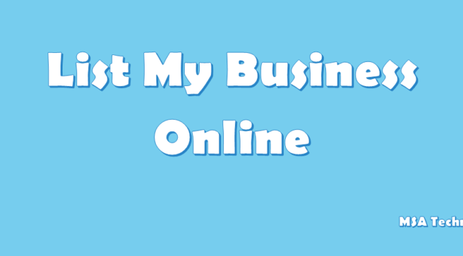 List My Business on Google | Bing Place | Yahoo Local | Yelp | Facebook | LinkedIn | Whitepages | MerchantCircle