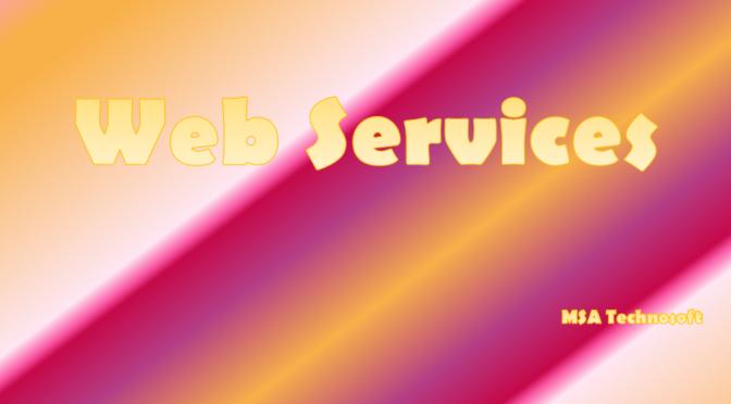 Web-Services-MSA-TECHNOSOFT