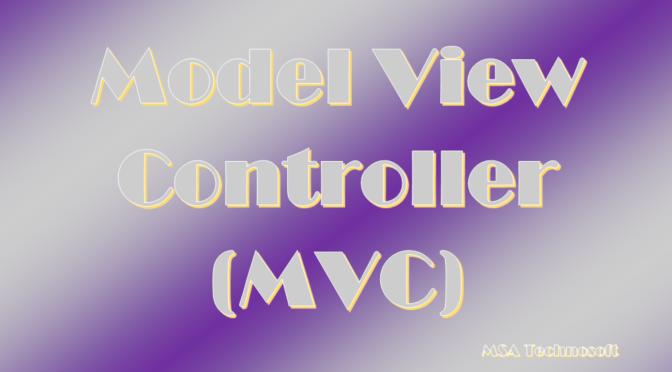 MVC-MSA-Technosoft